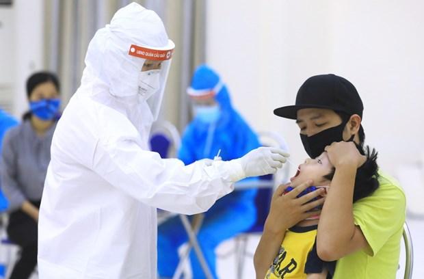 越南全力提升新冠病毒检测能力 满足激增的检测需求 hinh anh 1