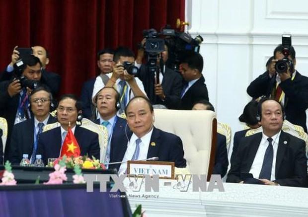 阮春福总理将出席湄公河—澜沧江合作第三次领导人会议 hinh anh 1