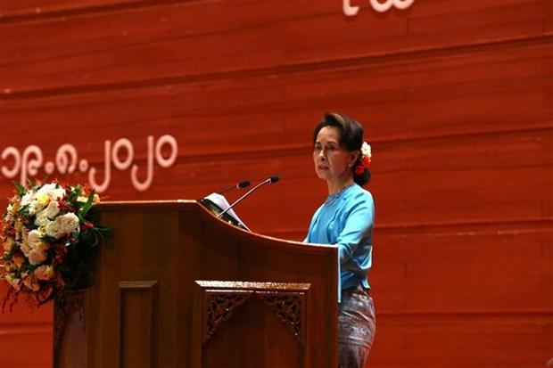 缅甸第四届21世纪彬龙会议闭幕;有关各方代表签署《联邦和平协议》第三部分 hinh anh 2