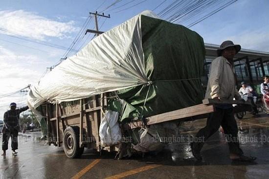 2020年上半年泰国跨境贸易下降9.18% hinh anh 1