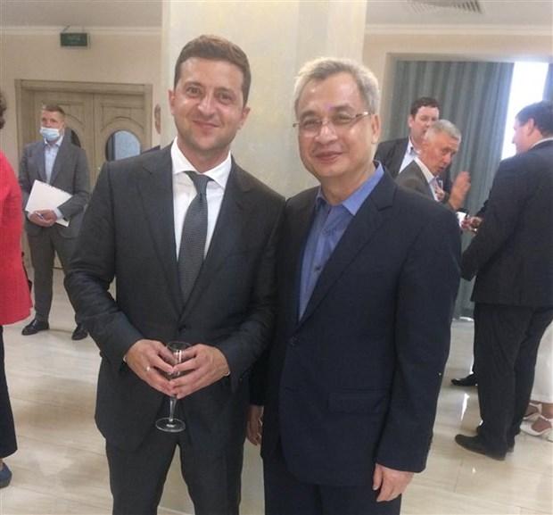 进一步加强越南与乌克兰之间的关系 hinh anh 1