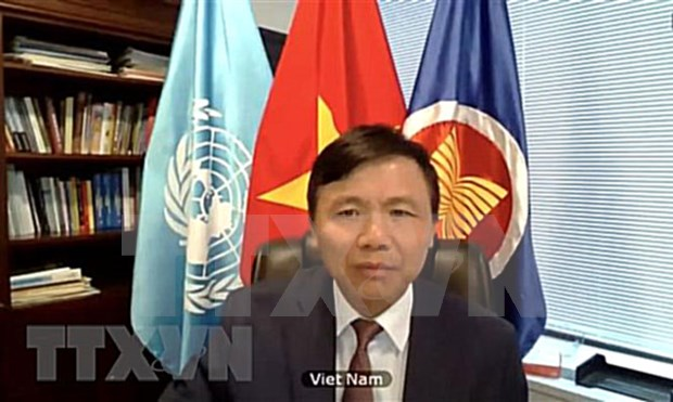 越南与联合国安理会:越南参加了关于反IS恐怖主义的会议 hinh anh 1