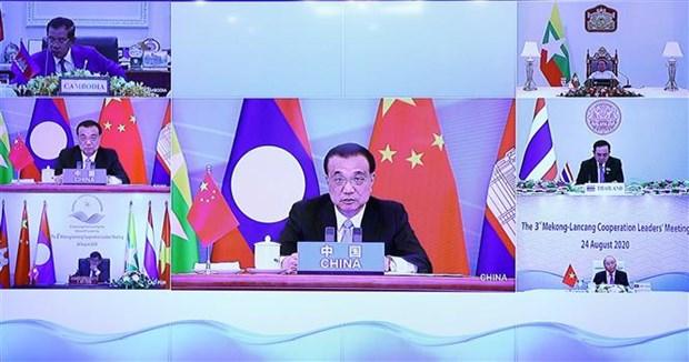 湄澜领导人承诺促进地区各国跨境经济合作与发展 hinh anh 2