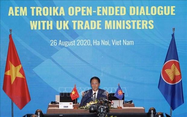 ASEAN 2020:东盟与英国举行视频对话 hinh anh 1