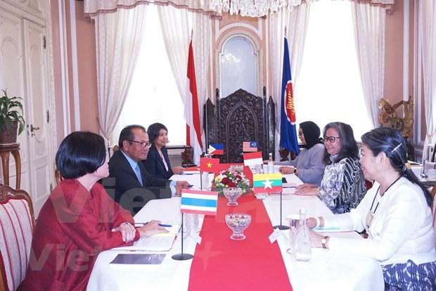 越南接任捷克东盟委员会轮值主席职位 hinh anh 2