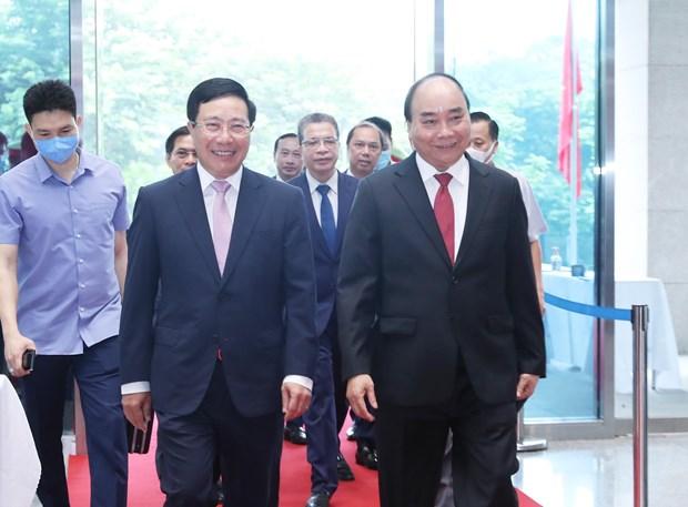 越南外交部建部75周年:越南是国际社会有担当有奉献的可靠伙伴 hinh anh 1