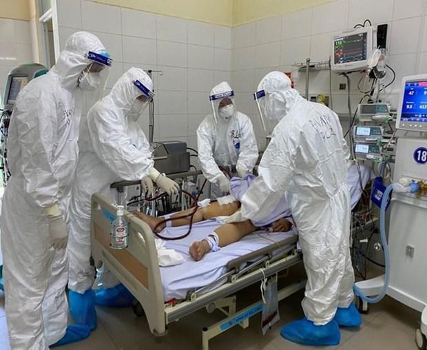 越南无新增确诊病例 危重症病例12例 hinh anh 1