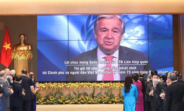 联合国秘书长安东尼奥·古特雷斯: 越南为支持可持续和平作出重要贡献 hinh anh 1