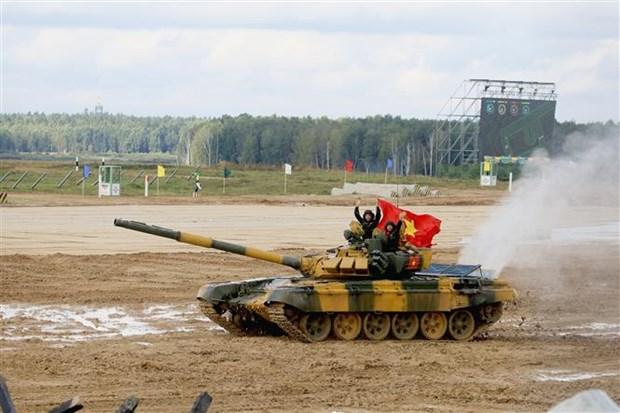 国际军事比赛-2020:越南队成绩良好 hinh anh 1