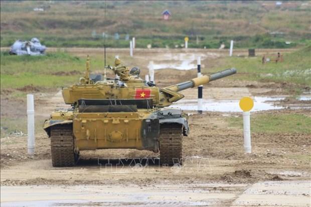 越南坦克队进入2020年国际军事比赛半决赛 hinh anh 2