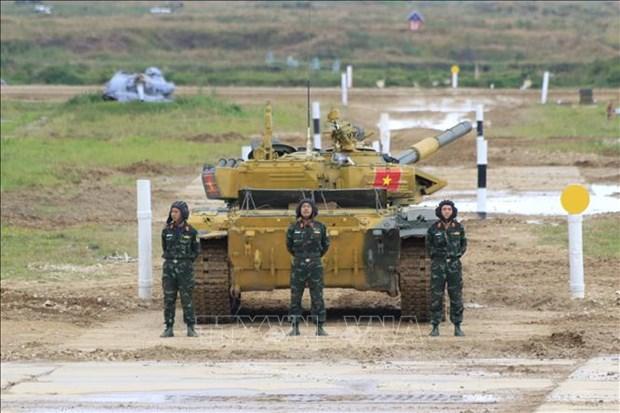 越南坦克队进入2020年国际军事比赛半决赛 hinh anh 1