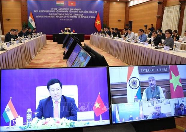 国际媒体:越南与印度关系日益密切 hinh anh 1