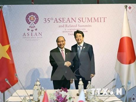 日本首相安倍晋三:我非常希望进一步深化日越两国关系 hinh anh 2