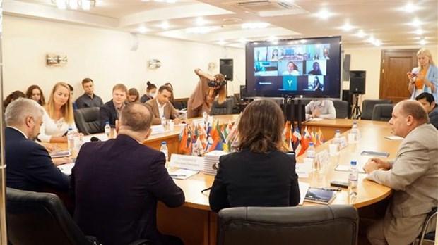 """题为""""在亚欧镜头下的今日越南""""研讨会在俄罗斯举行 hinh anh 1"""