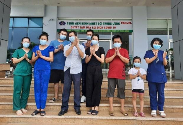 新冠肺炎疫情:越南新增7例治愈病例 hinh anh 1