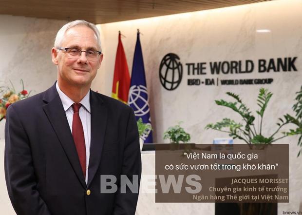 世行驻越首席经济学家莫里塞特:越南是在逆境中前行的国家 hinh anh 1