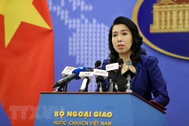 越南就中国在东海进行军事演习和发射导弹做出反应 hinh anh 1