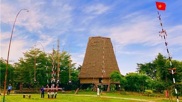 欢庆独立日活动在越南各民族文化旅游村举行 hinh anh 1