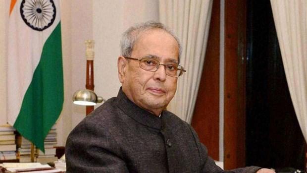 阮富仲就印度前总统普拉纳布·慕克吉逝世向印度总统科温德致唁电 hinh anh 1