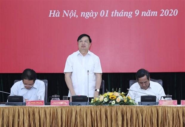 """继续加大经济社会发展成就和 """"双重""""目标落实工作宣传力度 hinh anh 3"""