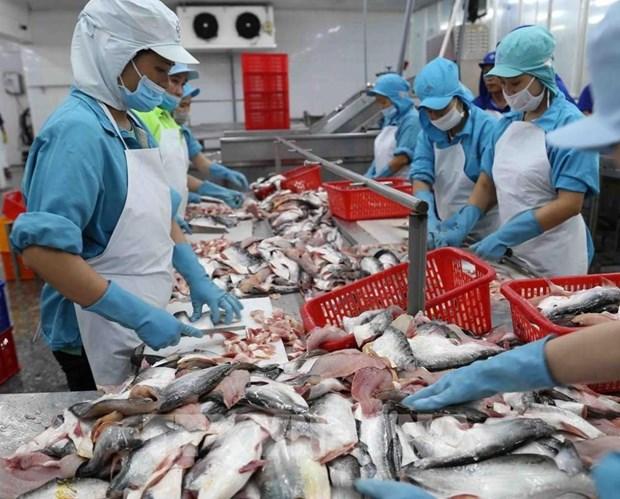越南提出对美国和欧盟市场的出口年均增长7-10%的目标 hinh anh 1