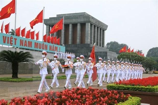 世界各国领导人就越南国庆75周年向越南领导人致贺电和贺信 hinh anh 1