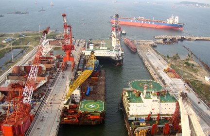 越南榕橘船舶工业公司的能力赢得外国客户的信任 hinh anh 2