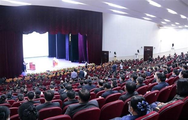 老挝举行庆祝越南国庆75周年集会 hinh anh 1