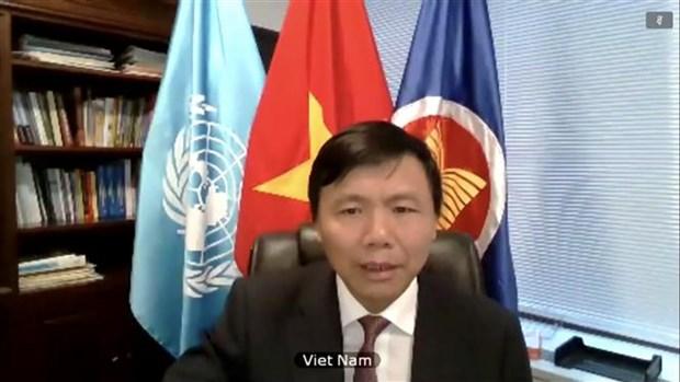 越南呼吁利比亚有关各方早日恢复谈判 hinh anh 1