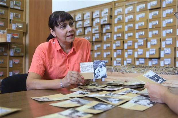 庆祝越南国庆75周年:在俄罗斯塔斯社资料图片库所保存有关越南的图片的价值令人印象深刻 hinh anh 2