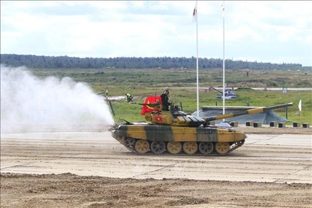 越南代表团在2020年国际军事比赛上继续取得高成绩 hinh anh 1