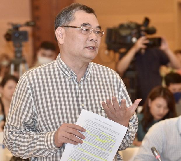 2020年8月份政府例行记者会:阮德钟与窃取日强案相关机密文件一案有关 hinh anh 1