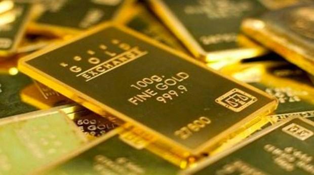 9月4日上午越南国内黄金价格保持在5700万越盾左右 hinh anh 1
