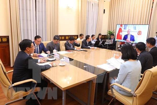 范平明出席二十国集团外长视频会议 hinh anh 1