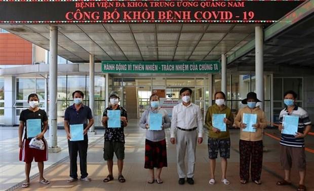 新冠肺炎疫情:广南省新增13例新冠肺炎治愈出院病例 hinh anh 1