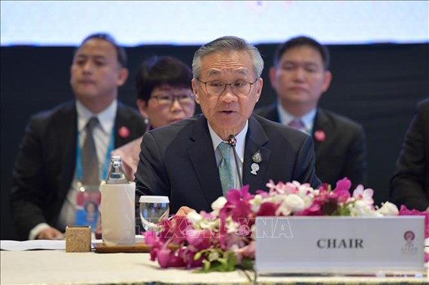 ASEAN 2020:第53届东盟外交部长会议上泰国将把重点放在多边合作 hinh anh 1