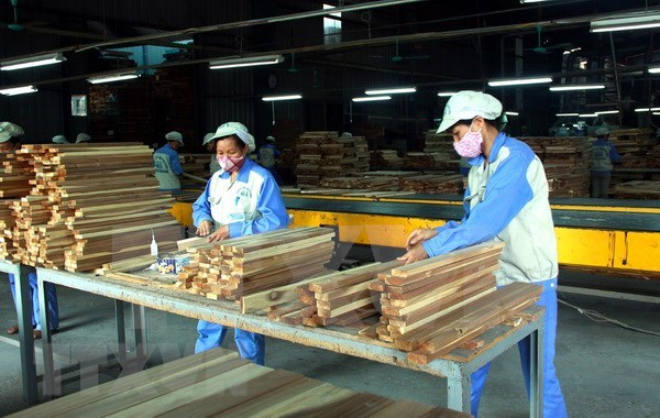 越南林产品出口增长10%以上 hinh anh 1