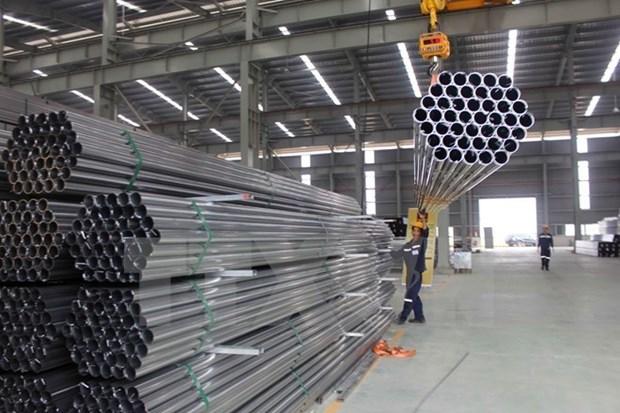 8月份和发集团建筑钢材销售量达近50万吨 hinh anh 1