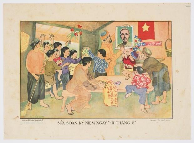 澳大利亚图书馆藏有越南罕见的艺术类海报集锦 hinh anh 2