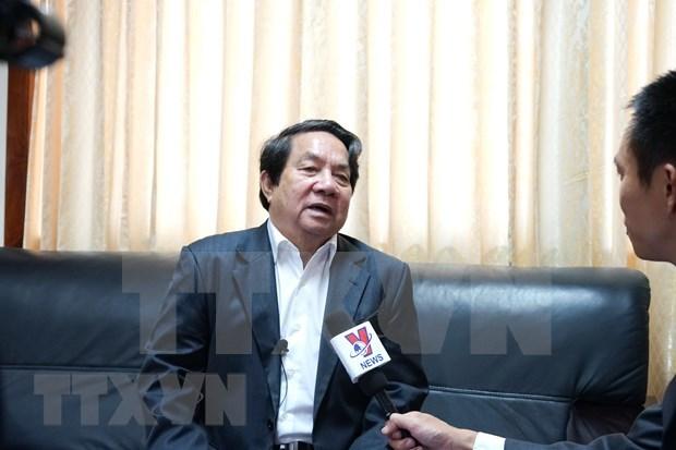AIPA 41:柬埔寨国会秘书长高度评价越南关于青年议会委员会的倡议 hinh anh 1