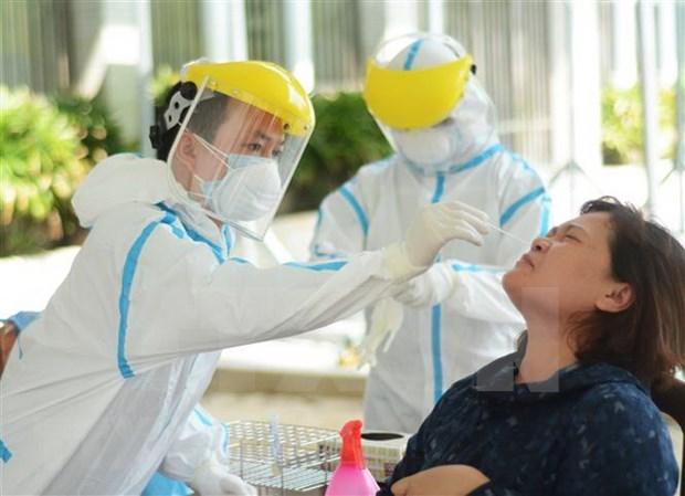越南无新增新冠肺炎确诊病例 一到三次检测呈阴性反应病例86例 hinh anh 1