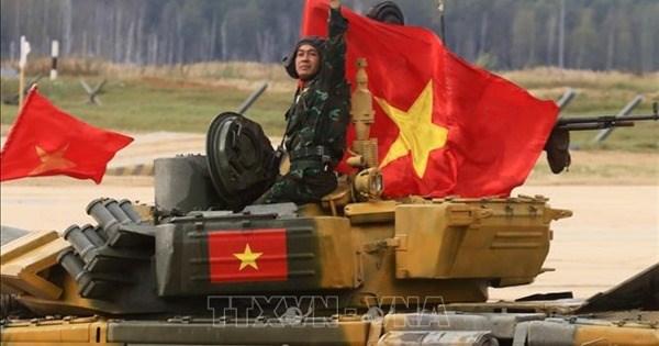 2020年国际军事比赛闭幕:越南代表团夺得优秀成绩 hinh anh 1