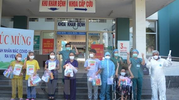 越南无新增新冠肺炎确诊病例 新增康复病例38例 hinh anh 1