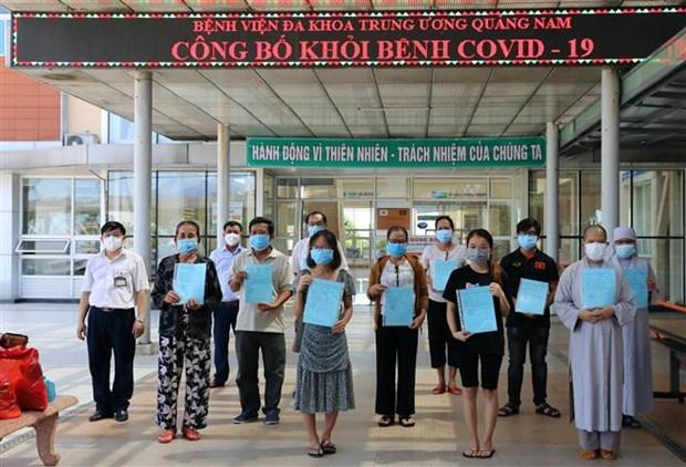 新冠肺炎疫情:越南新增24例新冠肺炎治愈出院病例 hinh anh 1