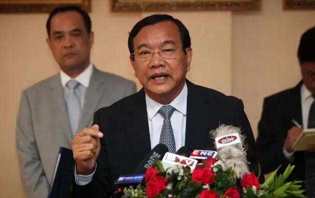 柬埔寨外交部发布AMM53新闻公报 hinh anh 1