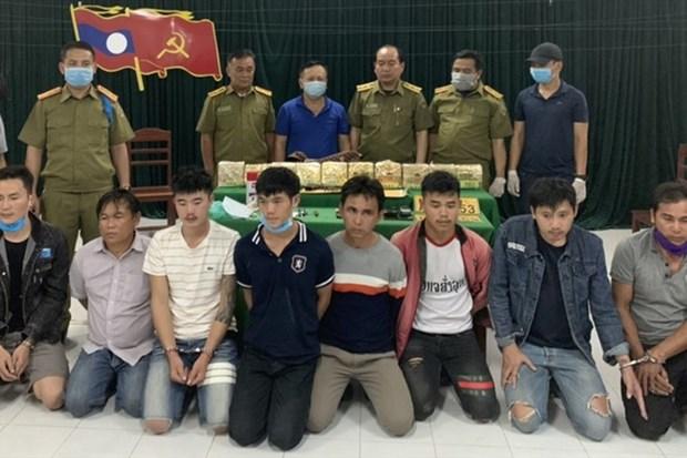 广治省边防部队成功侦破一起非法运输毒品案件 hinh anh 1