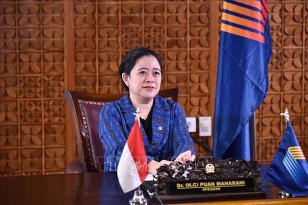 AIPA 41:印度尼西亚呼吁维持东盟的和平、友好与和谐 hinh anh 1