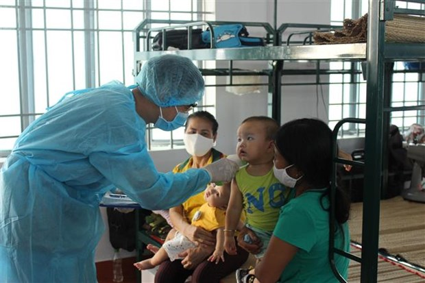 越南新增确诊病例5例 均为境外输入病例 hinh anh 1