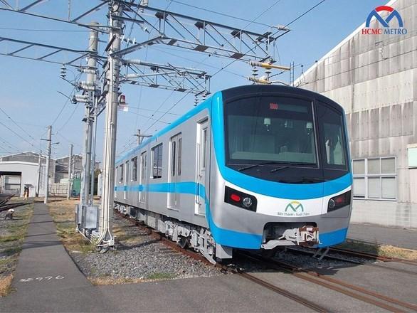 胡志明市地铁一号线首列车预计将于2020年10月抵达胡志明市 hinh anh 1