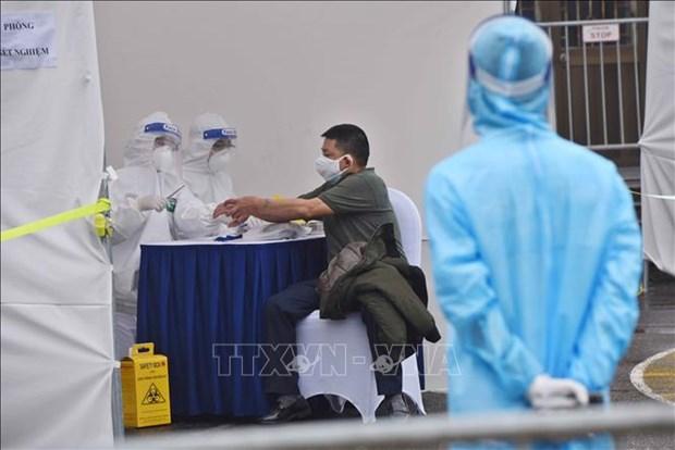 越南无新增病例仍有186例正在接受治疗 hinh anh 1